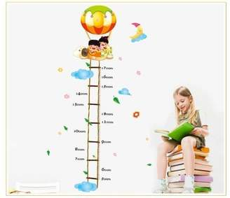 Hydrogen New Design Scaling Ladder Height Chart (50cm-170cm) Kids in Dog Balloon Wall Sticker Kids Room Decor by New Design