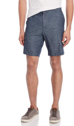 DKNY Chambray Mid-Rise Shorts