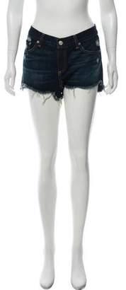 Rag & Bone Distressed Mini Shorts w/ Tags