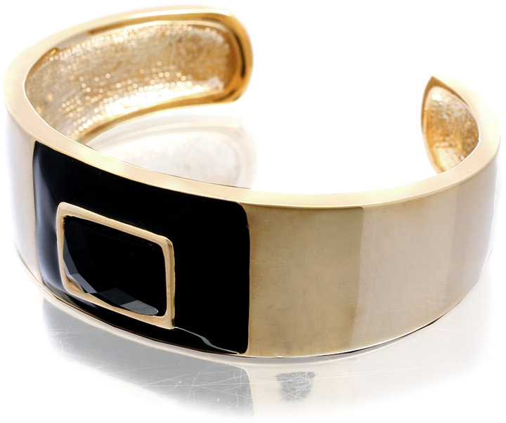 Asos Enamel Faceted Cuff