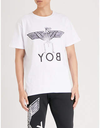 Boy London Yob cotton-jersey T-shirt
