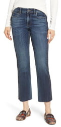 KUT from the Kloth Side Inset Ankle Flare Jeans