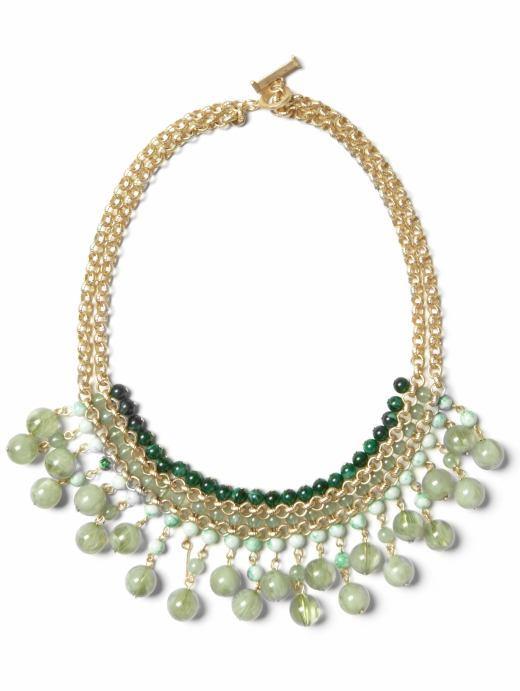 Valence bib necklace