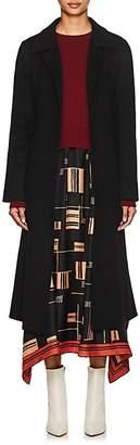THE LOOM Women's Brushed Wool-Alpaca A-Line Coat