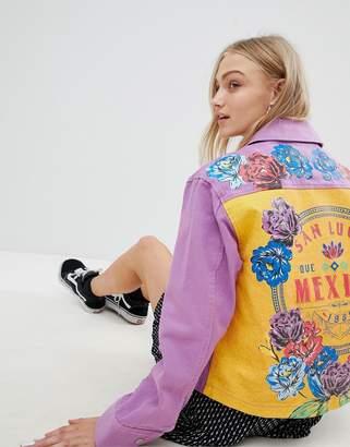 Asos Design Mexico Printed Jacket