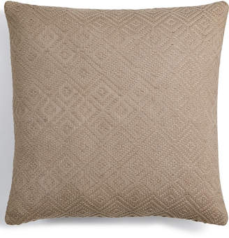 "Hotel Collection Pebble Diamond 18"" Square Decorative Pillow, Created for Macy's Bedding"