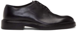 Maison Margiela Black Lace-Up Derbys