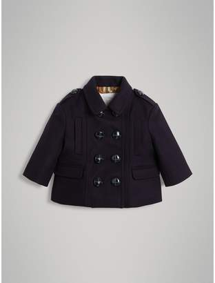 Burberry Wool Pea Coat