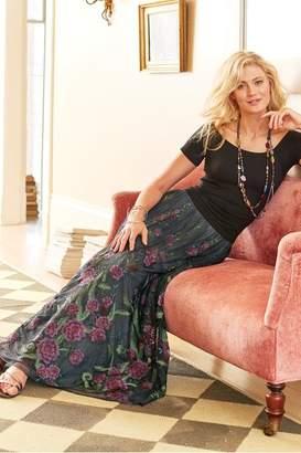 Soft Surroundings Rose Noir Skirt