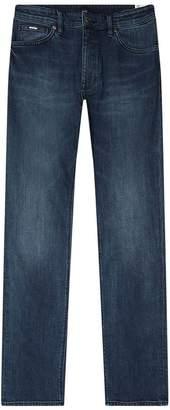 BOSS Fade Effect Regular Fit Jeans