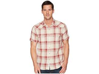 Lucky Brand Short Sleeve Santa Fe Western Shirt Men's Short Sleeve Button Up