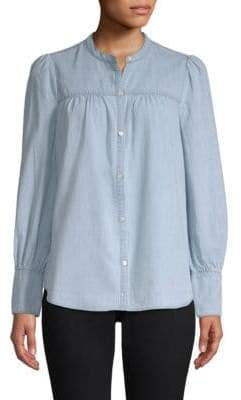 Joie Aubrielle Chambray Western Shirt
