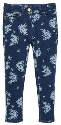 J.Crew crewcuts by Flower Print Stretch Toothpick Jeans
