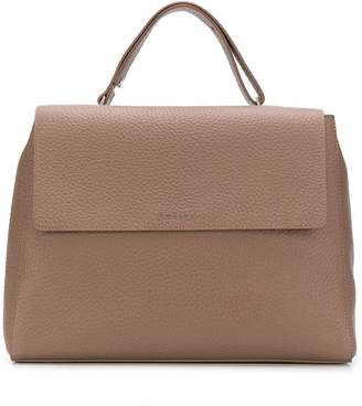 Orciani flap top tote