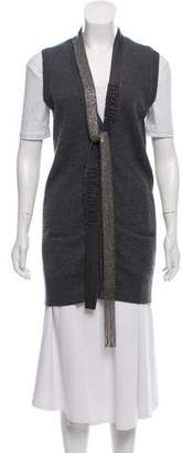Robert Rodriguez Sleeveless Cashmere Vest
