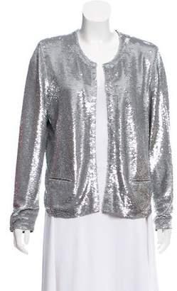 IRO Embroidered Long Sleeve Jacket