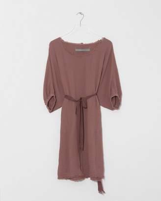 Raquel Allegra Terracotta Dolman Dress