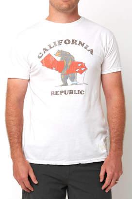 Original Retro Brand California Republic Surf Graphic Tee