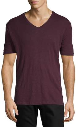 ATM Anthony Thomas Melillo Men's V-Neck Military T-Shirt