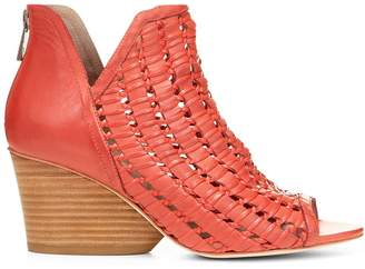 Donald J Pliner JACQI, Woven Nappa Leather Wedge Bootie
