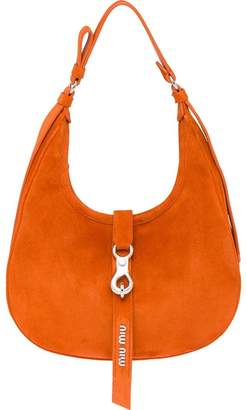Miu Miu smooth hobo bag