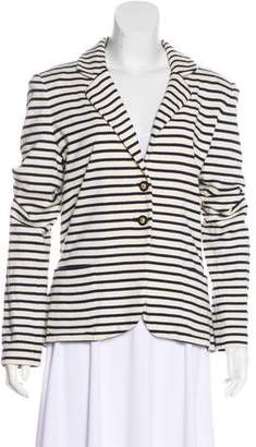 Tory Burch Structured Striped Blazer