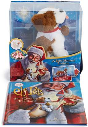 Elf on the Shelf Elf Pets(R): A Saint Bernard Tradition Book & Stuffed Animal
