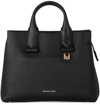 Michael Kors Rollins Black Tumbled Leather Handbag