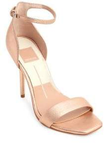 Dolce Vita Halo Leather Ankle-Strap Sandals
