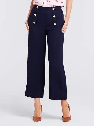 Draper James Solid Sailor Cropped Pant