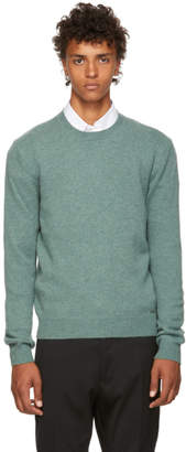 DSQUARED2 Green Fin.7 Sweater