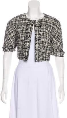 Trina Turk Tweed Short Sleeve Bolero w/ Tags