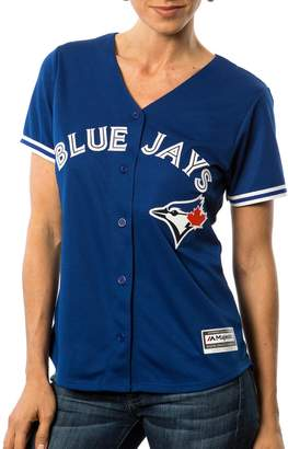 Majestic Toronto Blue Jays 2016 Cool Base Women's Replica Alternate MLB Baseball Jersey