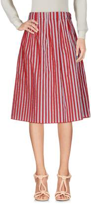 Biancoghiaccio Knee length skirts - Item 35346789WG