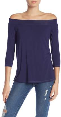 Michael Stars Basic Off-The-Shoulder Tee