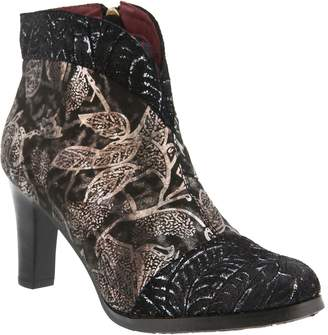 Spring Step L`Artiste by Leather Ankle Boots -Lidia