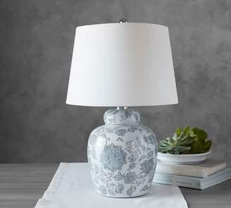 Pottery Barn Langley Ceramic Bedside Lamp