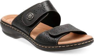 Clarks Collections Women's Leisa Lacole Flat Sandals Women's Shoes