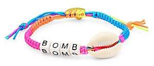 Venessa Arizaga Women's Bomb Shell Pull-Tie Bracelet