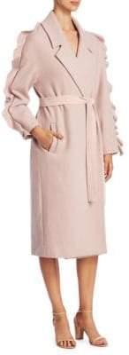 Mother of Pearl Bexley Wrap Coat