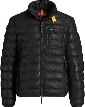 Parajumpers Ernie Leather Jacket - Men's