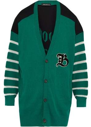 Bootleg Truth Cotton Cardigan - Mens - Green