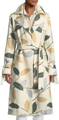 Lafayette 148 New York Rayna Inspired Laurel Cotton Trench Coat