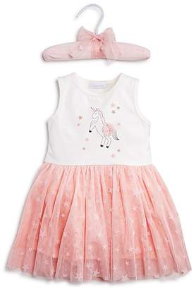 Elegant Baby Girls' Unicorn Tutu Bodysuit Dress - Baby