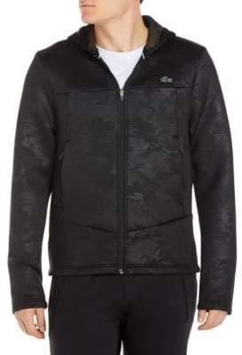Lacoste Long-Sleeve Zippered Hoodie