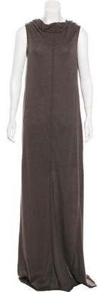 Rick Owens Lilies Sleeveless Maxi Dress