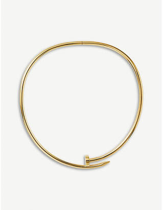 Cartier Juste un Clou Torque 18ct yellow-gold necklace