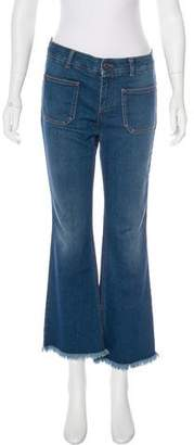 Stella McCartney Mid-Rise Flared Jeans