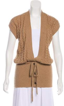 Chloé V-Neck Knit Vest