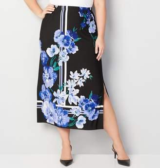 Avenue Floral Maxi Skirt